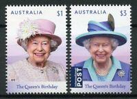 Australia 2019 MNH Queen Elizabeth II 93rd Birthday 2v Set Royalty Stamps