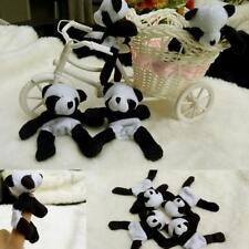 Cute Plush Panda Fridge Magnet Refrigerator Sticke Toy PP cotton Home Decor A+