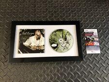 AVRIL LAVIGNE SIGNED FRAMED GOODBYE LULLABY CD RARE! JSA COA AUTOGRAPHED