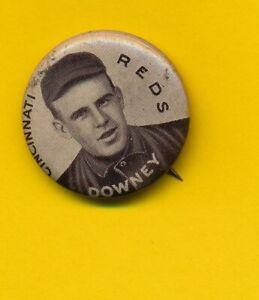 1912 Caporal Pinback - Tom Downey - Cincinnati Reds