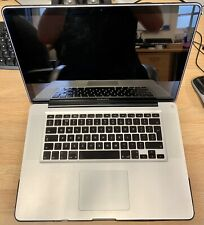 "MacBook Pro 15"" i7 2.2ghz 16gb Ram 240gb SSD Early 2011 A1286 Spares or Repair."