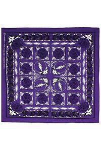 GRATEFUL DEAD-SYF ROSE-STEAL YOUR FACE-Purple BANDANA-Garcia,Lesh, Wier