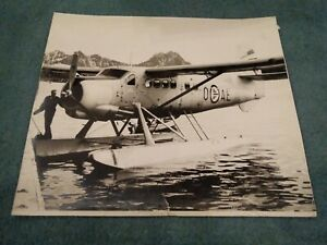 De Havilland Canada Otter Luftorsvarets Overkommando Norway B,/W Photograph 1961