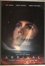 Cinema Poster: ARRIVAL 2016 (Dr Banks One Sheet) Amy Adams Jeremy Renner