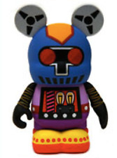 Disney Robot Series #2 Vinylmation ( Mixed Up Robot 8-9-7-11)