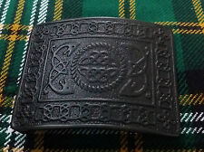 Men's Scottish Kilt Belt Buckle Serpent Celtic Knot Black/Serpent Celtic Buckles