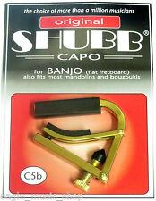 Shubb C5b  Banjo / Mandolin Capo Flat Fretboard