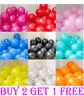 "50 PCS HELIUM Pearl Latex METALLIC SHINE  Balloons 10"" Wedding Birthday Party"