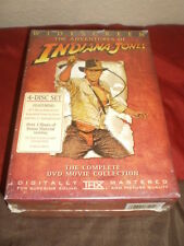 Indiana Jones - The Adventure Collection (DVD, 2003, 4-Disc Set, Widescreen) NEW