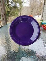 """DINNER PLATE plum purple HOMER LAUGHLIN FIESTA WARE 10.5"""" NEW"""