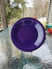 "DINNER PLATE plum purple HOMER LAUGHLIN FIESTA WARE 10.5"" NEW"