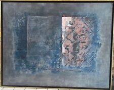 Michel CADORET acrylique sur toile abstraction