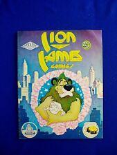 Lion and Lamb Comics. UK underground 1975. 1st print . FN. Scarce.