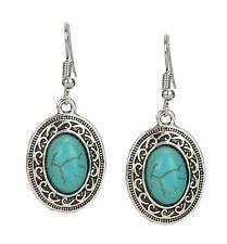 Earrings Silver Turquoise Earrings by Ella Jonte Ethno New Earrings