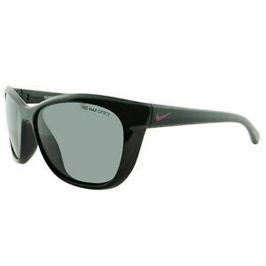 Nike Trophi EV0820 066 Black Pink Foil Women's / Girls Sunglasses Grey Lens