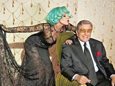 Lady Gaga & Tony Bennett UNSIGNED photo - P1574