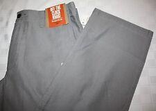 DOCKERS Off The Clock Khaki Mens Pants, Straight Fit D2, 29 x 30 Lt Gray, NWT