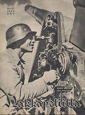 Finland Wartime Magazine Hakkapeliitta 1943 #47 - WWII - German Artillery