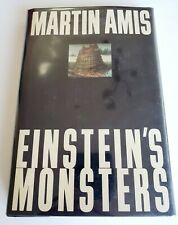Einstein's Monsters Martin Amis Signed Hardcover 1st/1st 1987