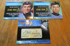 NEW 2017 - Star Trek 50th Anniversary COMPLETE MASTER SET with Cut Signatures