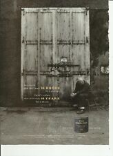 In a world that can't wait 24 hours...- Glenlivet Scotch Whisky-'99 magazine ad.