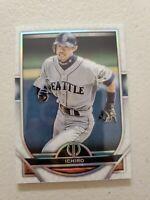 Ichiro Suzuki 2021 Topps Tribute Baseball Card #1 Seattle Mariners
