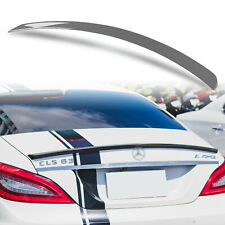 Painted Rear Trunk Spoiler For Mercedes Benz CLS W218 A Style Steel Grey 755