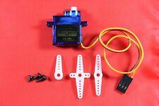TowerPro micro servo sg90 con accesorios, sólo 9g, 6v, 1.4kg/cm, jr/Futaba tipo
