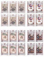 Korea Scott # 2255a-2255d Bicentenary of Manned Flight Uncut Stamp Sheet MNH