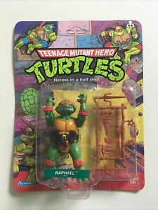Rare! Vintage Teenage Mutant Hero Turtles Raphael Action Figure 1989 Bandai UK