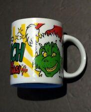 Vintage Dr. Seuss How The Grinch Stole Christmas Mug, Grinch Coffee Mug