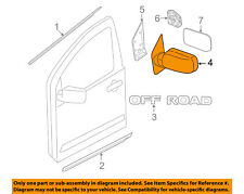 NISSAN OEM 07-16 Frontier Door Side Rear View-Mirror Assy Right 963019BC9A
