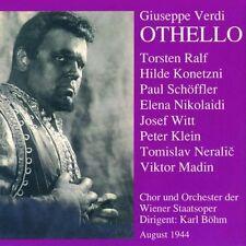 Verdi Othello (dt. Ga1944) KARL BÖHM Torsten Ralf Konetzni Schöffler Peter Klein