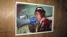 James Hunt F1 Legend Megaphone POSTER