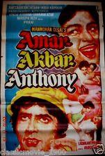 AMAR AKBAR ANTHONY AMITABH BACHCHAN BOLLYWOOD POSTER # 2 ART WORK