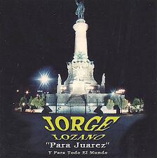 Lozano, Jorge : Para Juarez CD