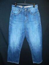 Men's Juniors Ecko Unitd Denim Foundry Baggy Fit Blue Jeans 30 x 30