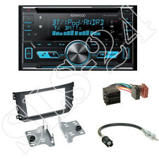 Kenwood DPX-5000BT CD/USB Radio + Smart ForTwo (BR451/A451) Blende + ISO Set
