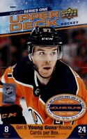 2020-21 Upper Deck Series 1 Hockey Base Set. #1 - 200 Complete Set.