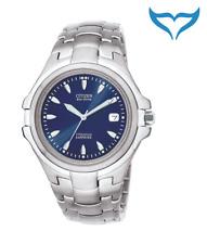 Citizen Super Titanium señores reloj pulsera bm1290-54l zafiro Eco-drive reloj Hombre