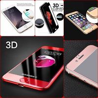 Full Cover Tempered Glass 3D Curved Screen Protector For iPhone 6/6S Plus 7 Plus