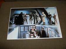 "HUGE Darth and The Bounty Hunters in Empire Strikes Back 13 x 19"" Color Photo"
