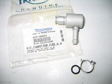 Orig. Triumph T509 955i Benzinschlauchanschluß CONNECTOR, FUEL, 6.0 T1241483