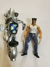 MARVEL UNIVERSE 3.75'' LOGAN AND MOTORCYCLE FIGURE C