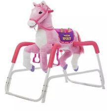 Rockin' Rider Princess Spring Horse Pink 36 x 24 x 38.5 inch