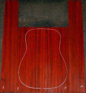 Padauk acoustic guitar back and Side set Luthier Tonewood