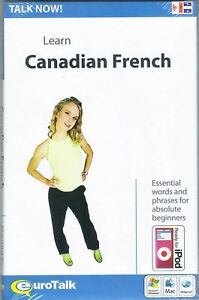 Talk Now! Learn Canadian French, CD-ROM Language Learning Series