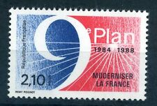 France 1984 9th 5 year plan stamp mint