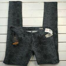NEW MAVI Womens Denim Jeans Sz 27x32 Serena Snake Low Rise Super Skinny J13-12