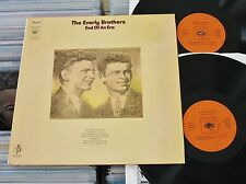 The Everly Brothers-Dolp (VG +) End of an Era (2 LP 's) CBS HOLLAND 1970 phasedepleinecapacitéopérationnelle